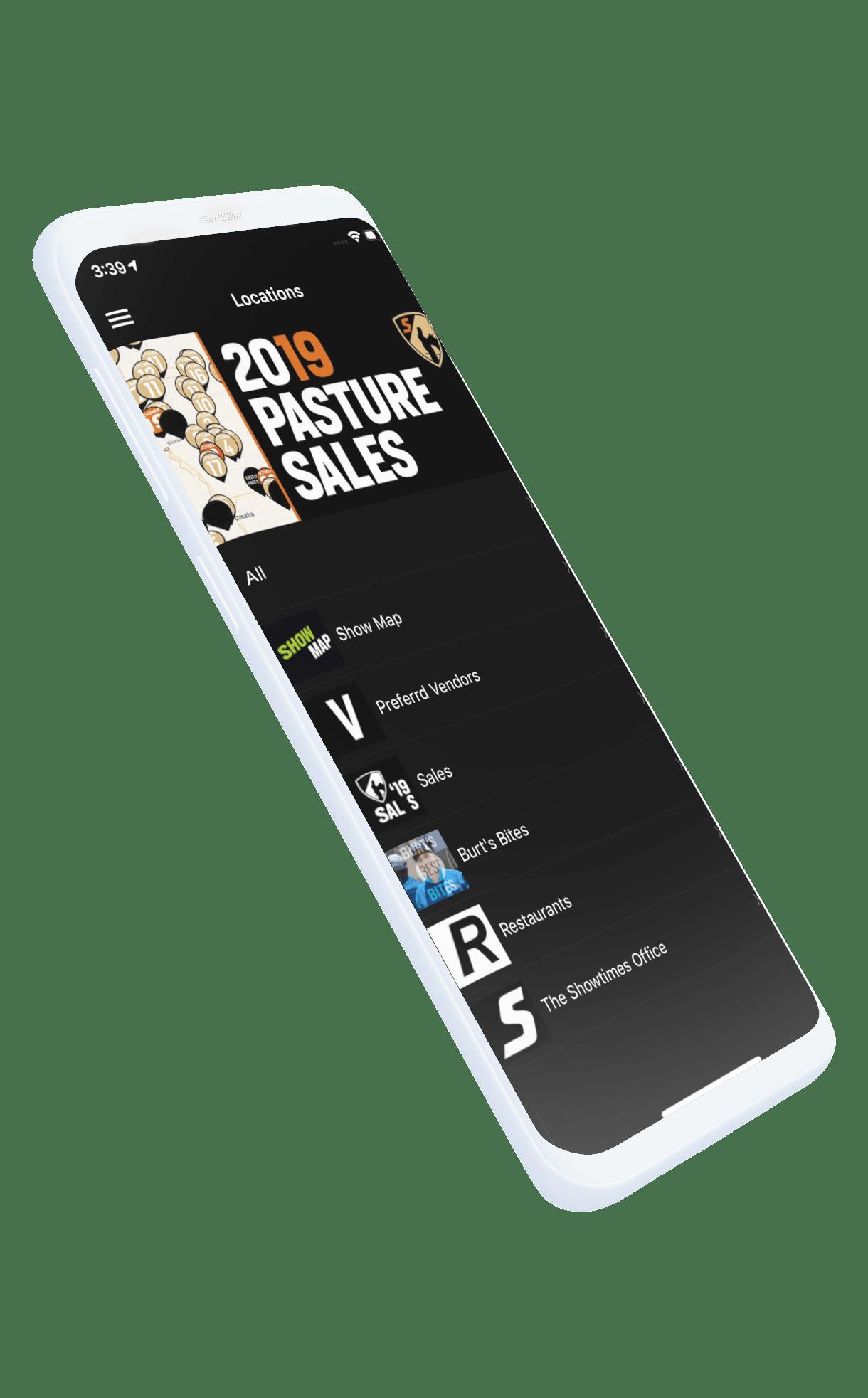 Custom app design phone picture