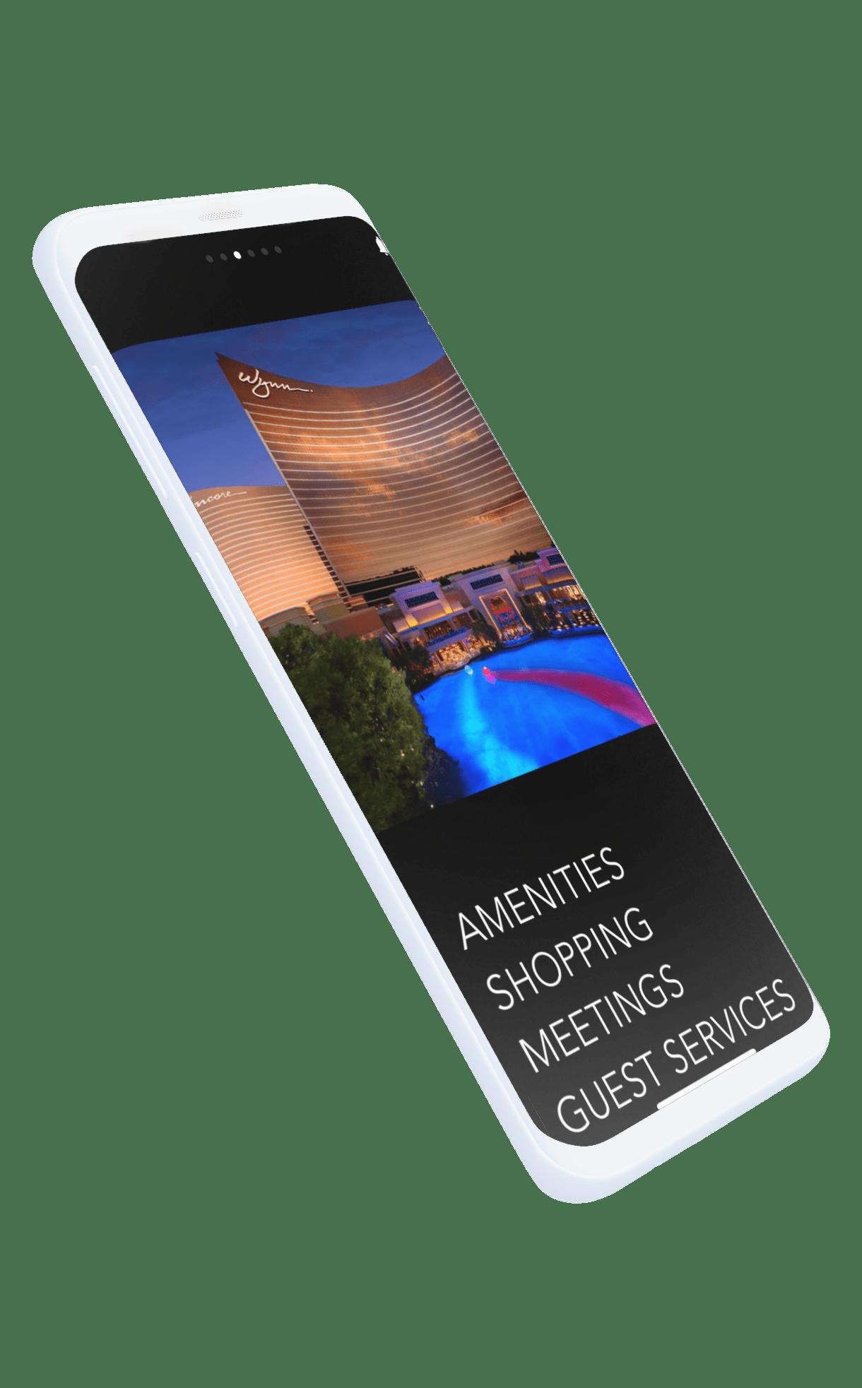 Custom app features phone picture