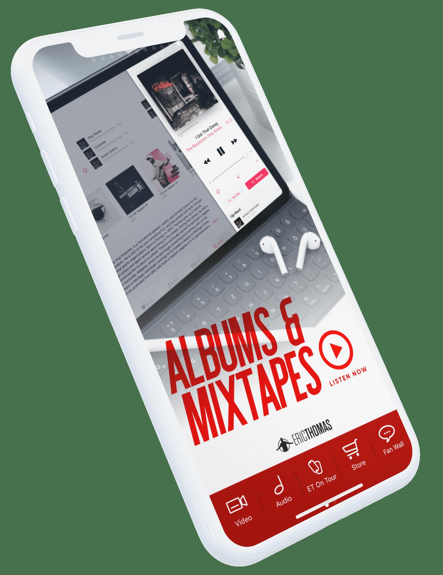 Design app stage image